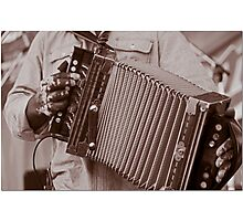 Squeeze Box Photographic Print