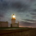 Chanonry lighthouse at night by John Ellis