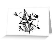 Sailing NorthEast Greeting Card