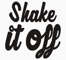 Shake it Off (bw) Kids Clothes