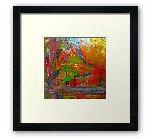 Rose Color View Framed Print