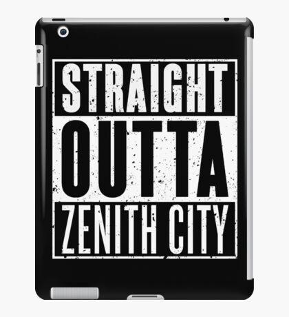 Straight Outta Zenith City iPad Case/Skin
