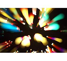 Go Into The Light Photographic Print