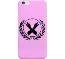 Nerdfighter Logo - Pink iPhone Case/Skin