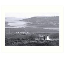 Gaelic Wedding -Donegal Art Print