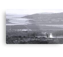 Gaelic Wedding -Donegal Metal Print