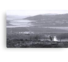 Gaelic Wedding -Donegal Canvas Print