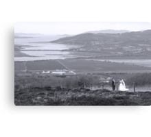 Gaelic Wedding -Donegal Canvas Print