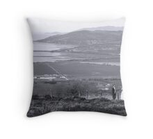 Gaelic Wedding -Donegal Throw Pillow