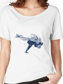Judo Throw in Gi 2 Women's Relaxed Fit T-Shirt