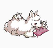 Mama Llama - Pink Kids Tee