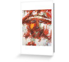 Abstract Sancho Greeting Card