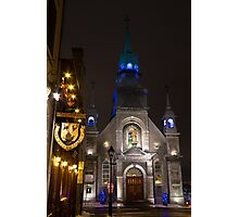Bonsecours Chapel, Montreal Photographic Print
