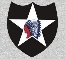 Logo of the Second Infantry Division, U. S. Army One Piece - Long Sleeve