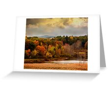 Autumn painting Greeting Card