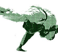 Judo Throw in Gi 2 Green by yin888