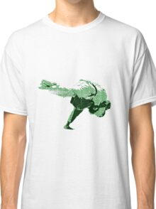 Judo Throw in Gi 2 Green Classic T-Shirt