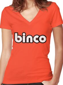 Binco Classic Women's Fitted V-Neck T-Shirt