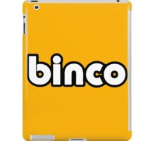 Binco Classic iPad Case/Skin