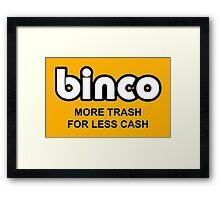 Binco Classic Framed Print