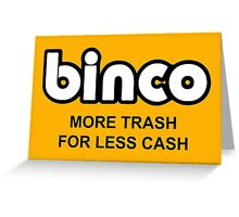 Binco Classic Greeting Card