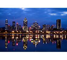 Downtown Montreal Cityscape Photographic Print