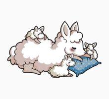Mama Llama - Blue Kids Tee
