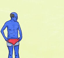 I Just Blue Myself. by Andrew  Mastin