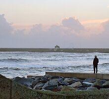 A Watcher Of Stormy Seas by lynn carter