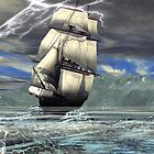 The Grand Turk3  Riding the Storm by Sazzart