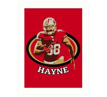 Jarryd Hayne - San Francisco 49ers Art Print