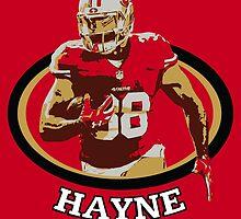 Jarryd Hayne - San Francisco 49ers by twyland