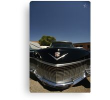 Classic Caddy Hearse Canvas Print