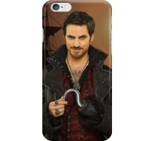 "Captain Hook Comic Poster ""Sunset"" Logoless Design iPhone Case/Skin"