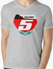 RD 5 Mens V-Neck T-Shirt