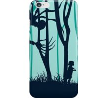 Down in forest iPhone Case/Skin