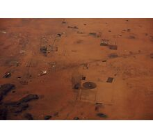 Sudan from above, Africa Photographic Print
