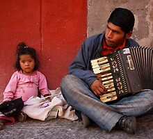 Mexican buskers by Antony Kuzmicich
