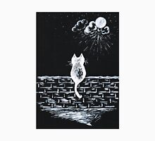 Cat on the look out Unisex T-Shirt