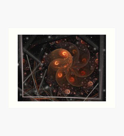 Bubbly SplitsNgon Art Print