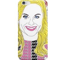 Amy Poehler floral iPhone Case/Skin