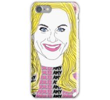 Amy Poehler floral iPhone Case/Skin