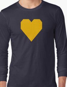 Fluorescent Orange  Long Sleeve T-Shirt