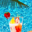 Tutti frutti ice cream by the pool in Mombasa, Kenya by Bruno Beach