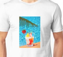 Tutti frutti ice cream by the pool in Mombasa, Kenya Unisex T-Shirt