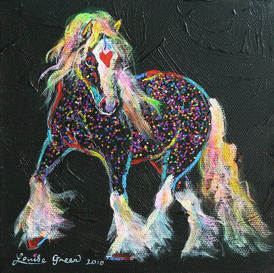 Little Gypsy Treasures Pony by louisegreen