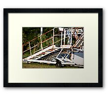 Out Of Use Framed Print