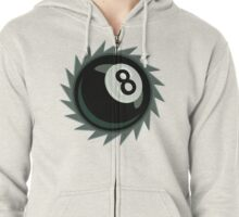 The Eight Ball Buzz Saw Zipped Hoodie