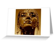 The God Queen Greeting Card