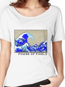 Power of Pixels Women's Relaxed Fit T-Shirt